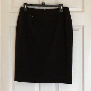Calvin Klein black pencil skirt size 6